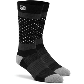 100% Opposition Calcetines, black